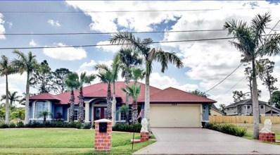 1020 SW Dubois Avenue, Port Saint Lucie, FL 34953 - MLS#: RX-10420010