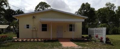 14844 Gruber Lane, Loxahatchee Groves, FL 33470 - MLS#: RX-10420827