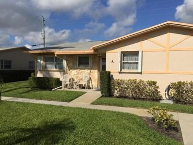 2619 W Dudley Drive UNIT A, West Palm Beach, FL 33415 - MLS#: RX-10421061
