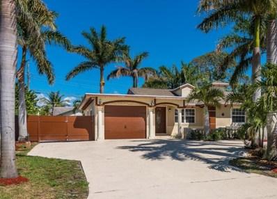 6880 Osborne Drive, Lake Worth, FL 33462 - MLS#: RX-10421109