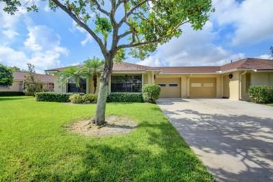 4125 Pear Tree Circle UNIT A, Boynton Beach, FL 33436 - MLS#: RX-10421115