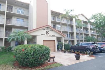 1300 SW 125th Avenue UNIT 311k, Pembroke Pines, FL 33027 - MLS#: RX-10421223