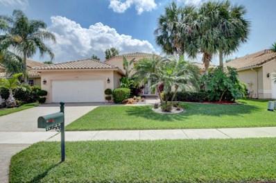 6744 Catania Drive, Boynton Beach, FL 33472 - MLS#: RX-10421435