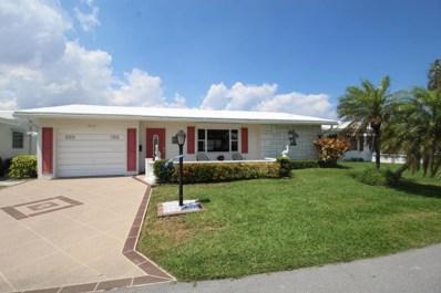 1605 SW 14th Avenue, Boynton Beach, FL 33426 - MLS#: RX-10421714