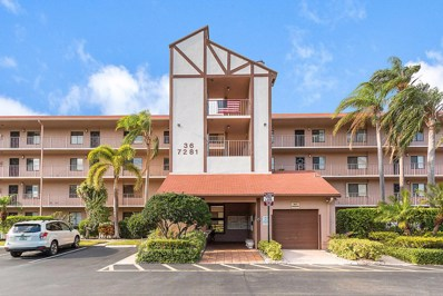 7281 Amberly Lane UNIT 102, Delray Beach, FL 33446 - MLS#: RX-10421943