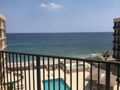 3610 S Ocean Boulevard UNIT 504, South Palm Beach, FL 33480 - #: RX-10422222