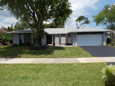 4767 Brandywine Drive, Boca Raton, FL 33487 - MLS#: RX-10422345