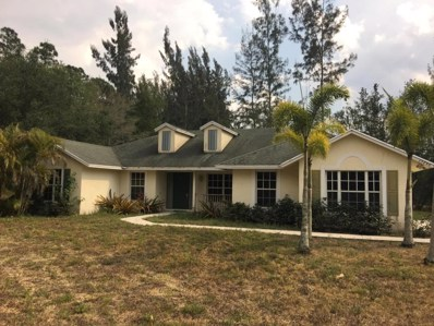 15246 Los Angeles Drive, Loxahatchee Groves, FL 33470 - MLS#: RX-10422518