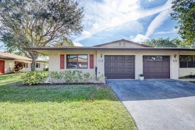 1664 Palmland Drive, Boynton Beach, FL 33436 - MLS#: RX-10423086