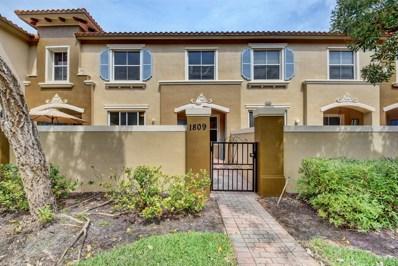 6516 Morgan Hill Trail UNIT 1809, Royal Palm Beach, FL 33411 - MLS#: RX-10423449