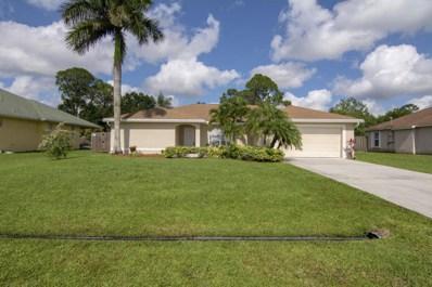 1725 SW Cycle Street, Port Saint Lucie, FL 34953 - MLS#: RX-10423799