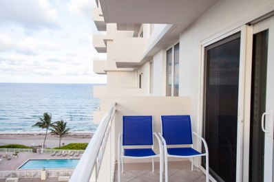 3221 S Ocean Boulevard UNIT #702, Highland Beach, FL 33487 - MLS#: RX-10424161
