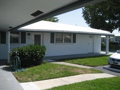 200 Leisure Lake Circle UNIT 108, Boynton Beach, FL 33426 - MLS#: RX-10425202