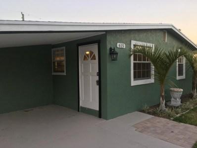 615 El Prado, West Palm Beach, FL 33405 - MLS#: RX-10425965