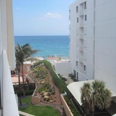 3590 S Ocean Boulevard UNIT 509, South Palm Beach, FL 33480 - MLS#: RX-10426077
