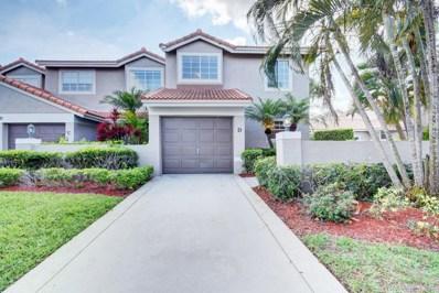 20950 Via Alamanda UNIT D, Boca Raton, FL 33428 - MLS#: RX-10426256