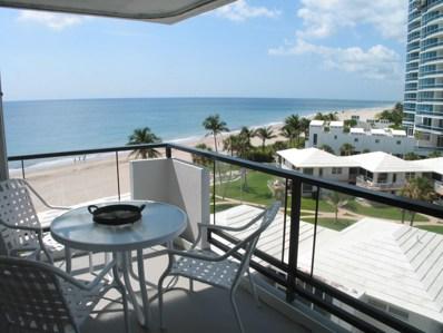 1500 S Ocean Boulevard UNIT 606, Lauderdale By The Sea, FL 33062 - #: RX-10426450