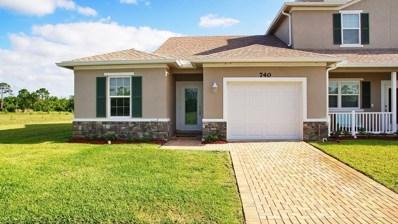 740 NE Hawks Ridge Way, Port Saint Lucie, FL 34983 - MLS#: RX-10426820