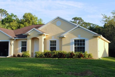 7507 Citrus Park Boulevard, Fort Pierce, FL 34951 - MLS#: RX-10427050
