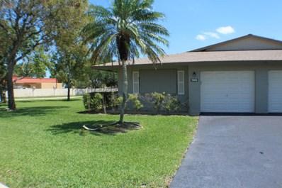 1502 Palmland Drive UNIT 1f, Boynton Beach, FL 33436 - MLS#: RX-10427552