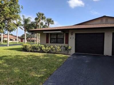 1638 Palmland Drive UNIT 14d, Boynton Beach, FL 33436 - MLS#: RX-10428199