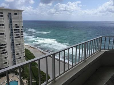 550 S Ocean Boulevard UNIT 2103, Boca Raton, FL 33432 - MLS#: RX-10428539