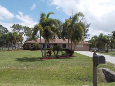 16140 E Grand National Drive, Loxahatchee, FL 33470 - MLS#: RX-10428715