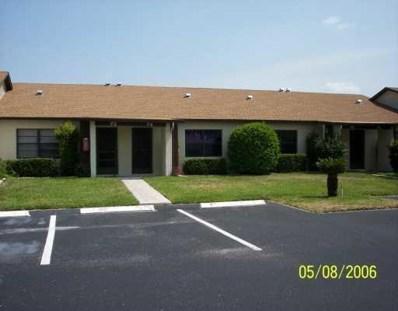 6002 Indrio Road UNIT K - 2, Fort Pierce, FL 34951 - MLS#: RX-10429200