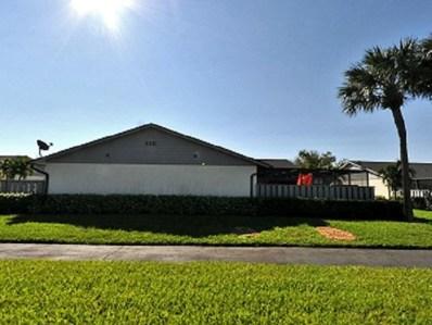 1311 Peppertree Trail UNIT B, Fort Pierce, FL 34950 - MLS#: RX-10429284