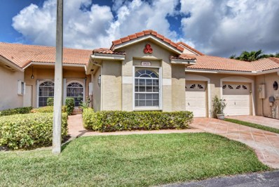 1821 Wood Fern Drive, Boynton Beach, FL 33436 - MLS#: RX-10429305