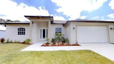 2074 SW Burman Lane, Saint Lucie West, FL 34983 - MLS#: RX-10429445