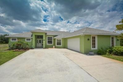 590 SW Halkell Avenue, Port Saint Lucie, FL 34953 - MLS#: RX-10429899