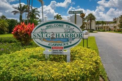 624 Snug Harbor Drive UNIT B11, Boynton Beach, FL 33435 - MLS#: RX-10429927