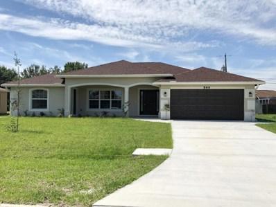 544 SW Lakota Avenue, Port Saint Lucie, FL 34953 - MLS#: RX-10430012