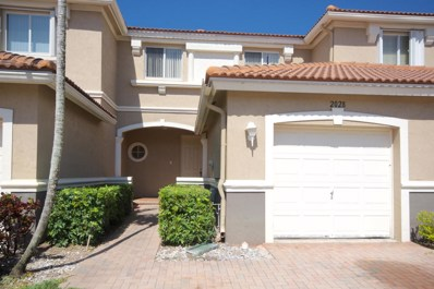 2028 Oakhurst Way, Riviera Beach, FL 33404 - MLS#: RX-10430415
