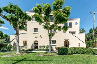 1815 S Olive Avenue UNIT 2, West Palm Beach, FL 33401 - MLS#: RX-10430645