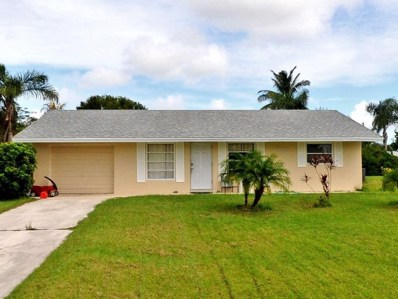 871 SE Thornhill Drive, Port Saint Lucie, FL 34984 - MLS#: RX-10430701