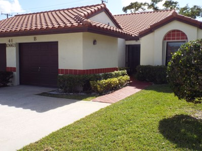 10663 Palm Leaf Drive UNIT B, Boynton Beach, FL 33437 - MLS#: RX-10430991
