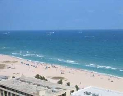 525 N Ocean Boulevard UNIT 1920, Pompano Beach, FL 33062 - MLS#: RX-10431090