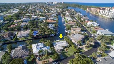 701 NE Harbour Drive, Boca Raton, FL 33431 - MLS#: RX-10431401