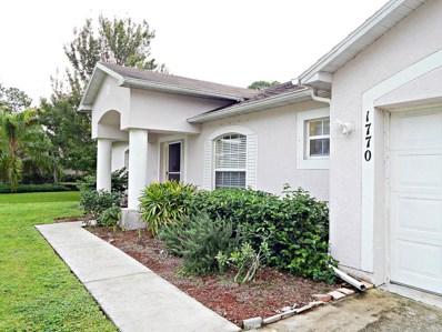 1770 SW Bellevue Avenue, Port Saint Lucie, FL 34953 - MLS#: RX-10431634