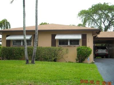 741 Whippoorwill Lane, Delray Beach, FL 33445 - MLS#: RX-10431939