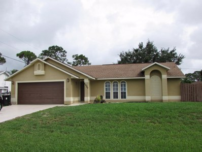 1037 SW Benchor Avenue, Port Saint Lucie, FL 34953 - MLS#: RX-10432910