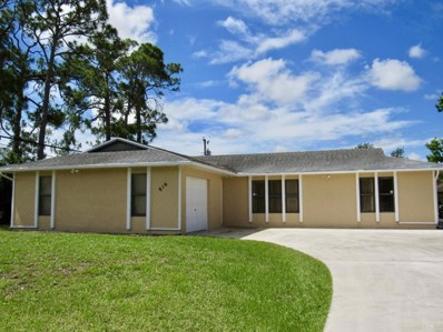 816 SE Kendall Avenue, Port Saint Lucie, FL 34983 - MLS#: RX-10433014