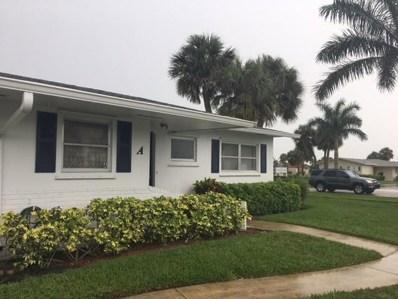 2766 Emory Drive E UNIT A, West Palm Beach, FL 33415 - MLS#: RX-10433091