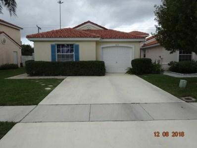7613 Edisto Drive, Lake Worth, FL 33467 - MLS#: RX-10433202