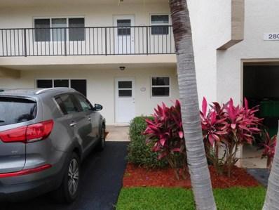 2805 Casita Way UNIT 111, Delray Beach, FL 33445 - MLS#: RX-10433231