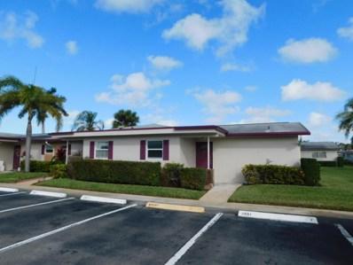 2661 Barkley Drive W UNIT A, West Palm Beach, FL 33415 - MLS#: RX-10433234