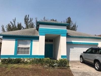 5291 Fox Trace UNIT 1, West Palm Beach, FL 33417 - MLS#: RX-10433881