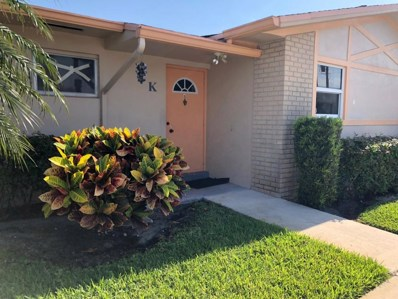 2689 Dudley Drive W UNIT K7, West Palm Beach, FL 33415 - MLS#: RX-10434048